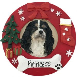 King Charles Cavalier (Tri-Color) Christmas Ornament