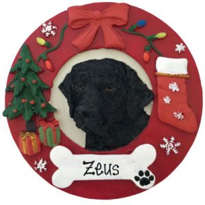 Labrador (Black) Christmas Ornament