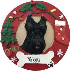 Scottie Christmas Ornament