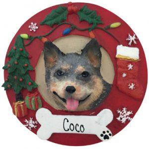 Australian Cattle Dog Christmas Ornament