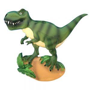 T-Rex Dinosaur Personalized Christmas Ornament - Blank
