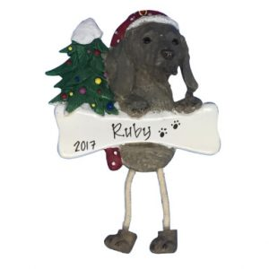 Weimaraner Personalized Christmas Ornament