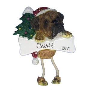 Bullmastiff Personalized Christmas Ornament