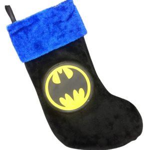 Batman Plush Christmas Stocking