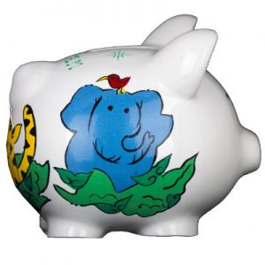 Jungle Mini Piggy Bank