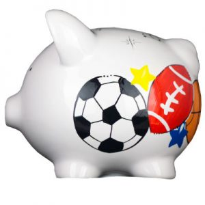 Sports Mini Piggy Bank