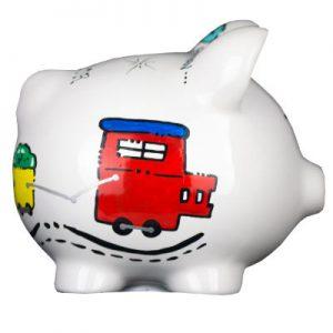 Train Mini Piggy Bank