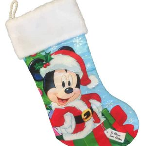 Disney Mickey Mouse Plush Christmas Stocking