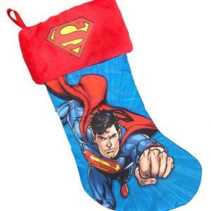 Superman Plush Christmas Stocking