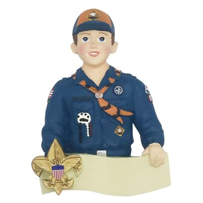 Boy Scout Cub Scout Personalized Christmas Ornament Blank