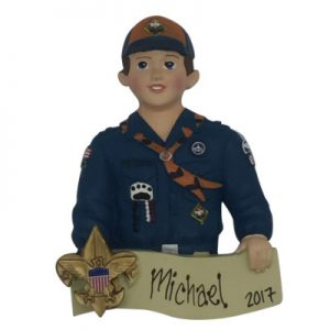 Cub Scout Personalized Christmas Ornament