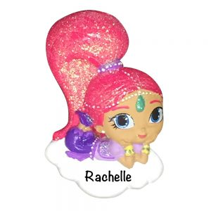 Shimmer and Shine Personalized Christmas Ornament