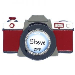 Camera Photo Personalized Ornament