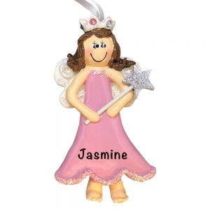 Princess Fairy Personalized Christmas Ornament