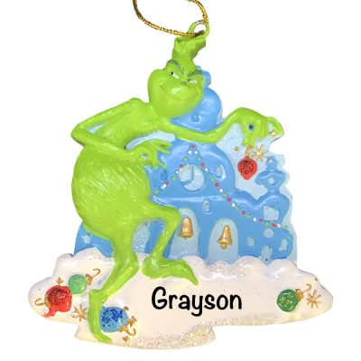 The Grinch Personalized Christmas Ornament