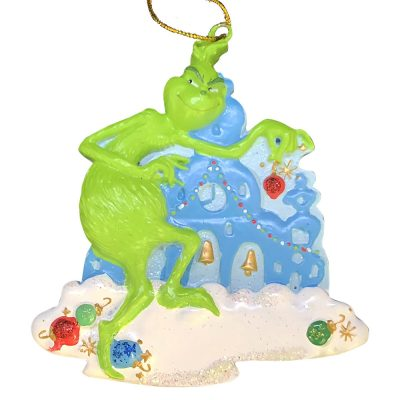 The Grinch Personalized Christmas Ornament - Blank