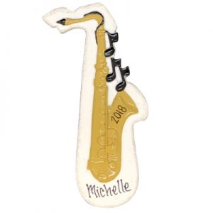 Saxophone Personalized Ornament