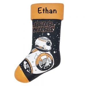 Star Wars BB-8 Stocking Personalized Christmas Ornament
