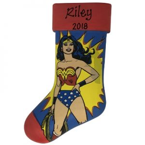 Wonder Woman™ Stocking Personalized Ornament