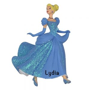 Disney Cinderella Personalized Christmas Ornament