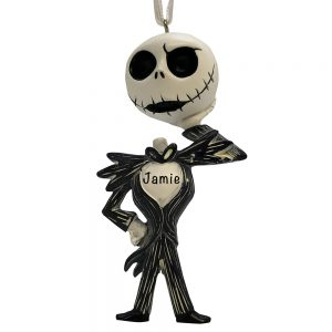 Jack Skellington Personalized Christmas Ornament