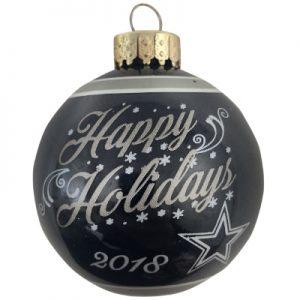 Dallas Cowboys NFL Logo Christmas Ornament