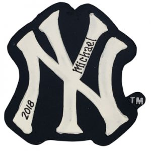 New York Yankees MLB Logo Christmas Ornament
