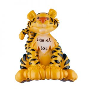 Tiger Personalized Ornament