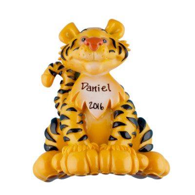 Tiger Personalized Ornament