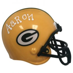 Green Bay Packers NFL Helmet Christmas Ornament