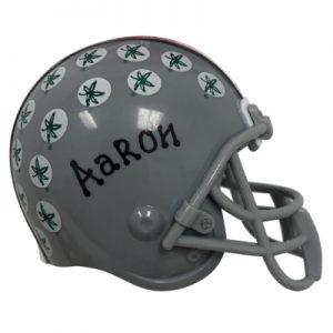 Ohio State University NCAA Helmet Christmas Ornament