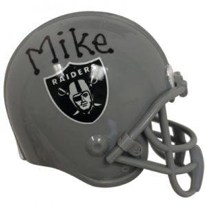Oakland Raiders NFL Helmet Christmas Ornament