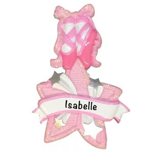 Ballet Star Personalized Christmas Ornament