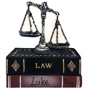 Lawyer Personalized Ornament