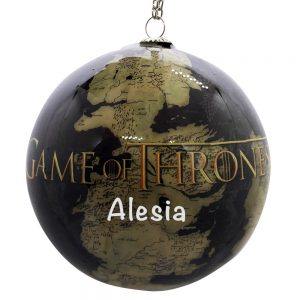 Game Of Thrones Personalized Christmas Ornament