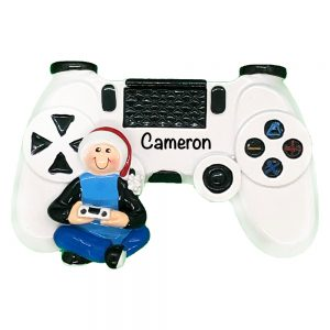 Video Games Controller Personalized Christmas Ornament