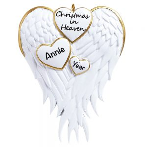 Christmas In Heaven Personalized Christmas Ornament