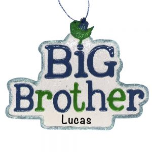 Big Brother Personalized Christmas Ornament