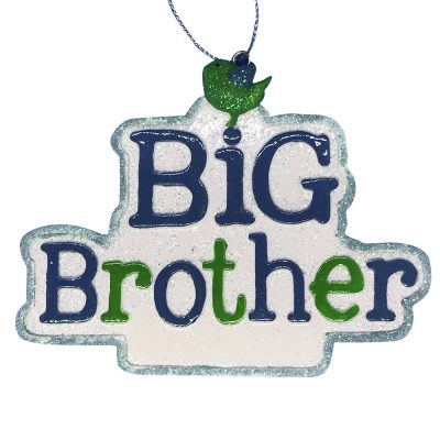Big Brother Personalized Christmas Ornament -Blank
