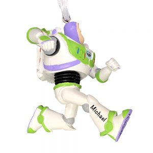 Buzz Lightyear Toy Story 4 Personalized Christmas Ornament -1