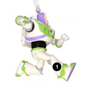 Buzz Lightyear Toy Story 4 Personalized Christmas Ornament -1 Numbered
