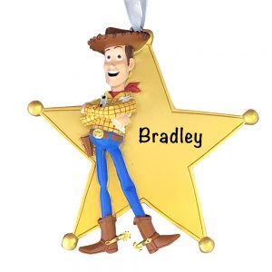 Woody Toy Story 4 Personalized Christmas Ornament