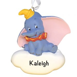 Dumbo Disney Personalized Christmas Ornament