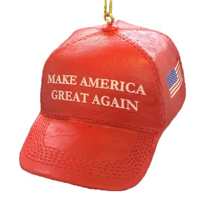 Make America Great Again MAGA Hat Personalized Christmas Ornament Blank