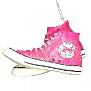 JoJo Siwa Sneaker Bow Personalized Ornament 1