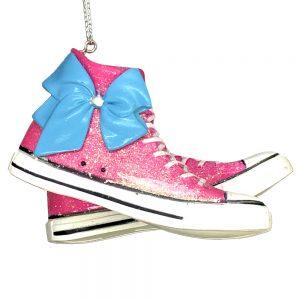 JoJo Siwa Sneaker Bow Personalized Ornament 2