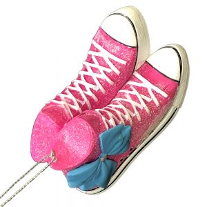 JoJo Siwa Sneaker Bow Personalized Ornament 4