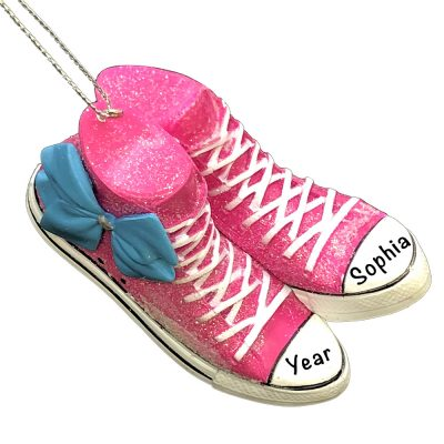 JoJo Siwa Sneaker Bow Personalized Ornament