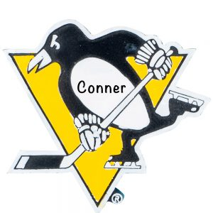 Pittsburgh Penguins Personalized Christmas Ornament