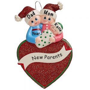 New Parents Personalized Ornament